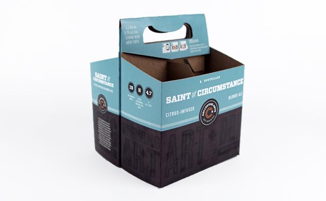 6 pack beer carrier template - custom drink carriers beverage carriers